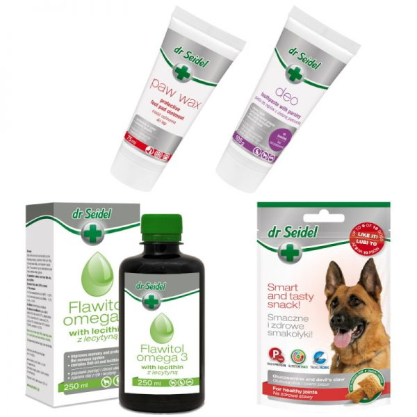 Dog Healthy Set from dr. Seidel