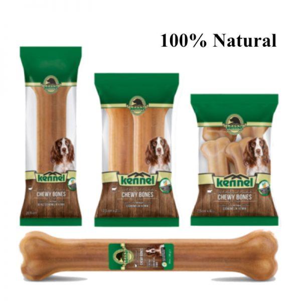 Natural Rawhide Chew Bone