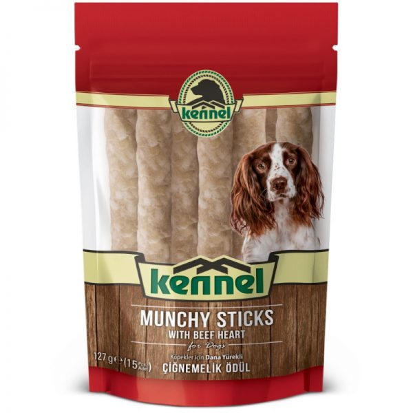 Munchy Dog Sticks With Beef Hearts
