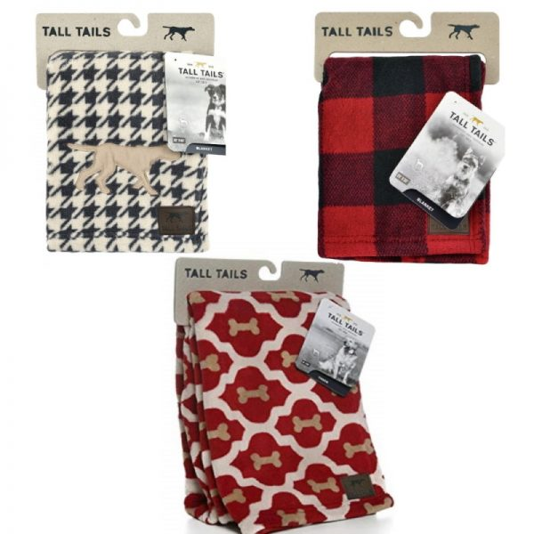 Fleece Blankets/Throws from Tall Tails
