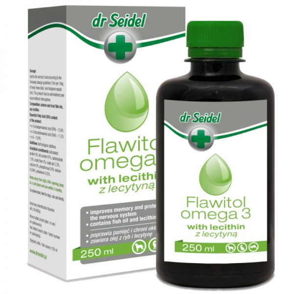 Flawitol Oil Omega 3 for Immunity Support from dr Seidel