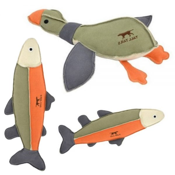 Canvas Large Squeaky Toys from Tall Tails