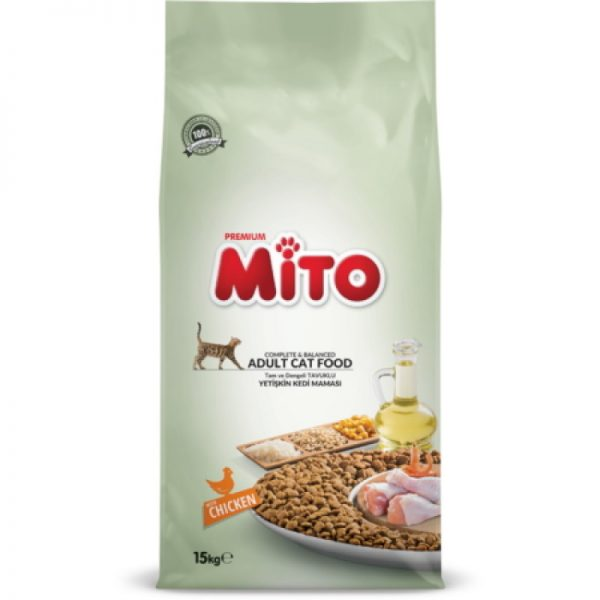 MITO Dry Cat Food 15Kg