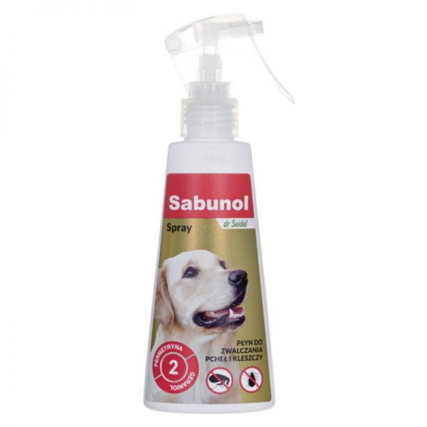 Ticks & Fleas Spray from Sabunol