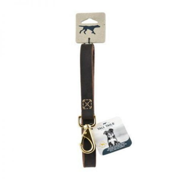 Genuine Leather Dog Leash from Tall Tails