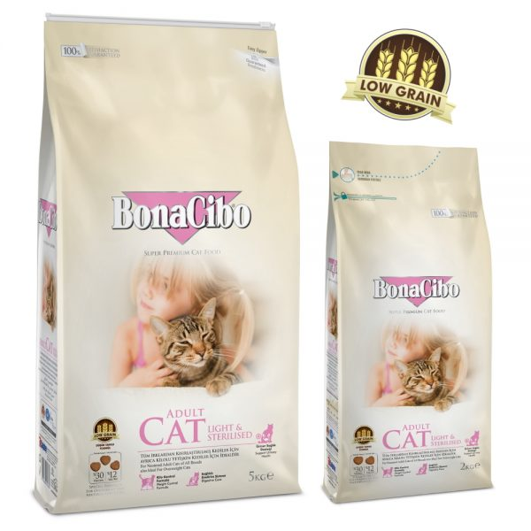 BonaCibo Adult Cat Light & Sterilized