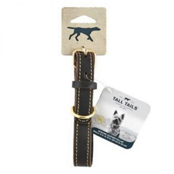 Genuine Leather Dog Collar from Tall Tails