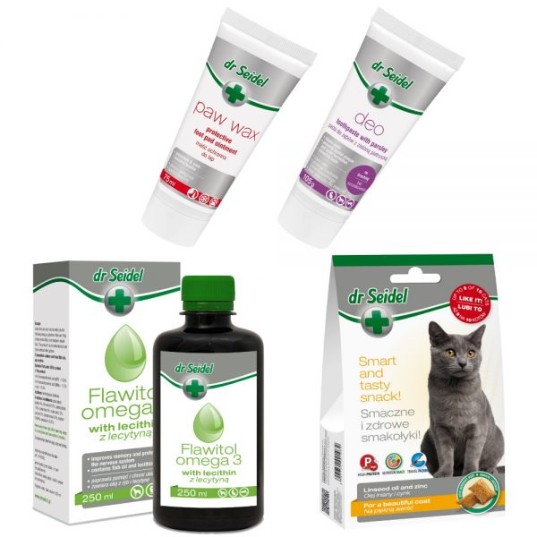 Cat Healthy Set from dr. Seidel