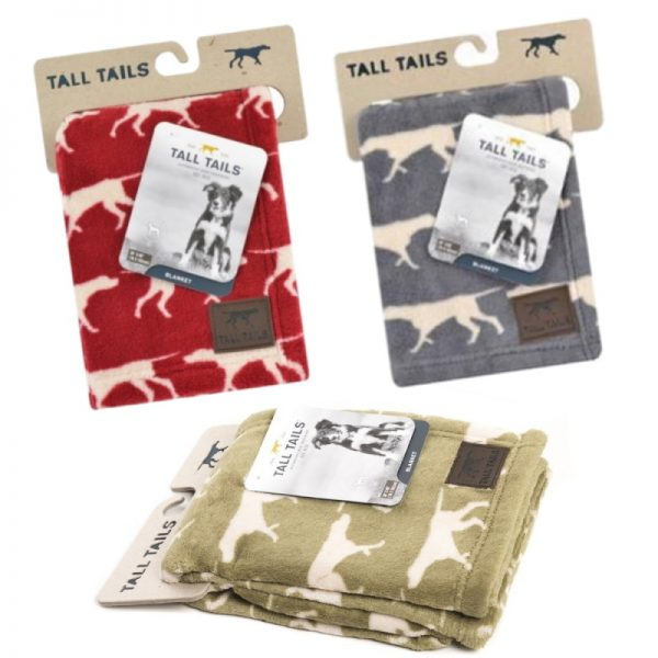 Icon Dog Blankets/Throws from Tall Tails