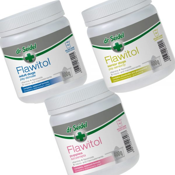 Flawitol Dog Supplements & Vitamin Powder from dr Seidel