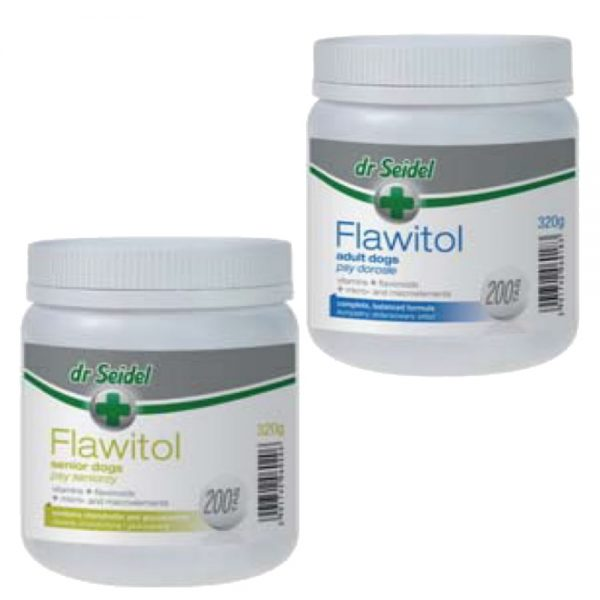 Flawitol Dog Supplements & Vitamin Tablets from dr Seidel