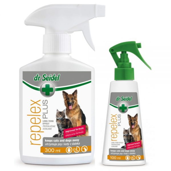 Repelex Plus Dogs & Cats- Keeps Pets Away from dr Seidel